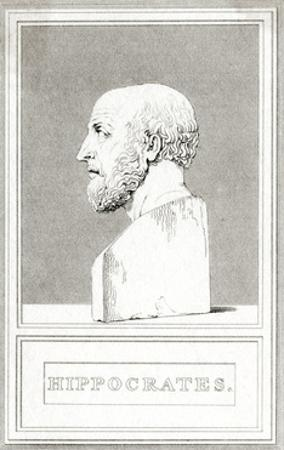 Hippocrates, Cooke by George Cooke