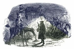 A Tale of Two Cities by Charles Dickens by George Cruikshank