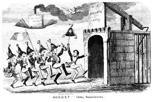 August - Idees Napoliennes, 19th Century by George Cruikshank