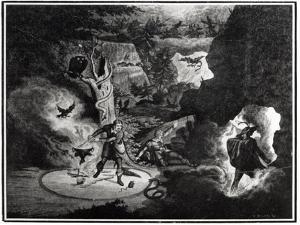 Carl Maria von Weber by George Cruikshank