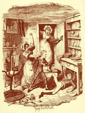 Charles Dickens 's 'The by George Cruikshank