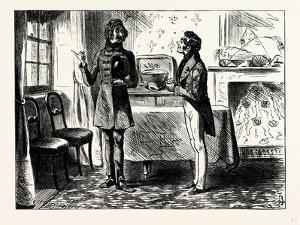 Charles Dickens Sketches by Boz When He First Came to Look at the Lodgings by George Cruikshank