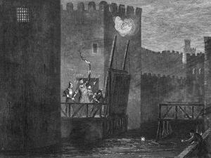 Courtenay's Escape from the Tower, 1840 by George Cruikshank