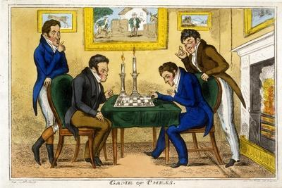 Game of Chess, Pub. Mccleary, Dublin, 1819