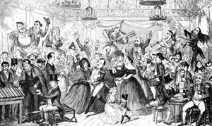 I Dreamt I Slept at Madame Tussaud's ! by George Cruikshank