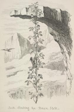 Jack Climbing the Bean Stalk by George Cruikshank