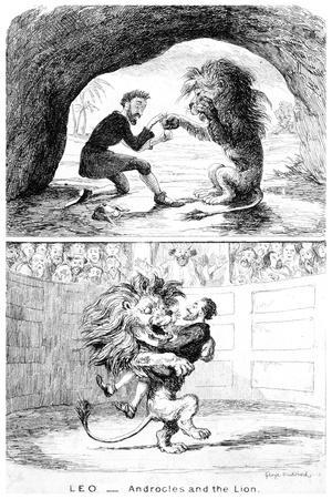 Leo - Androcles and the Lion, 19th Century
