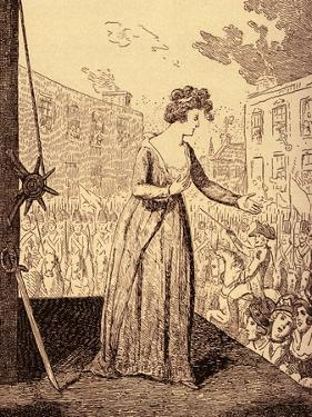 Marie Antoinette martyrdom by George Cruikshank