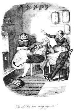 Oh Ah! Let 'Em Ring Again!, C1840S by George Cruikshank