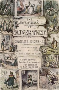 Oliver Twist by Charles Dickens by George Cruikshank