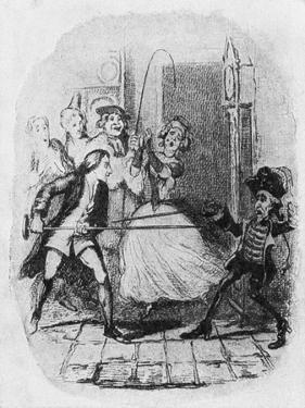 'The Adventures of Roderick Random by George Cruikshank