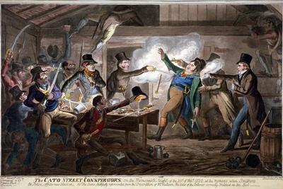 The Cato Street Conspirators..., 1820
