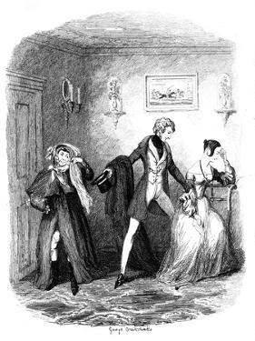 The Elopement, Early-Mid 19th Century by George Cruikshank