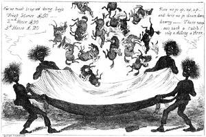 The Monster Sweeps, a Toss Up for the Derby, 19th Century by George Cruikshank