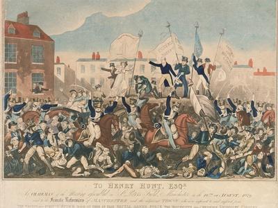 The Peterloo Massacre, 16th August 1819
