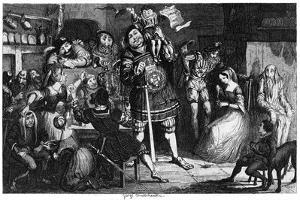 The Stone Kitchen, 1840 by George Cruikshank