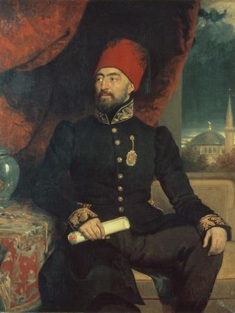 Portrait of a Dignitary in Turkish Costume