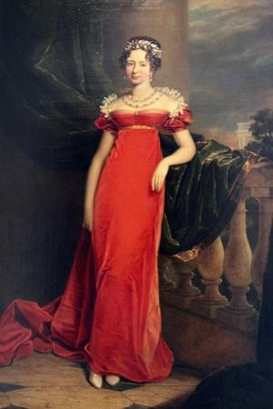 Portrait of the Grand Duchess Maria Pavlovna, C1822