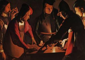 Les Joueurs de Des by George De La La Tour