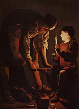 Sait Joseph Charpentier by George De La La Tour