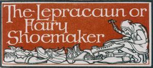 An Irish Leprechaun or Fairy Shoemaker by George Denham