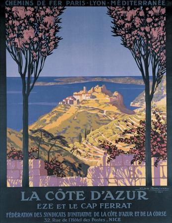 Cote d'Azur Cap Ferrat by George Dorival