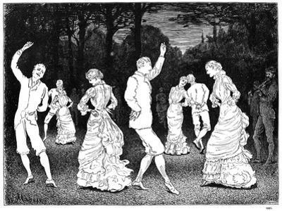 A Brilliant Idea, 1881 by George Du Maurier