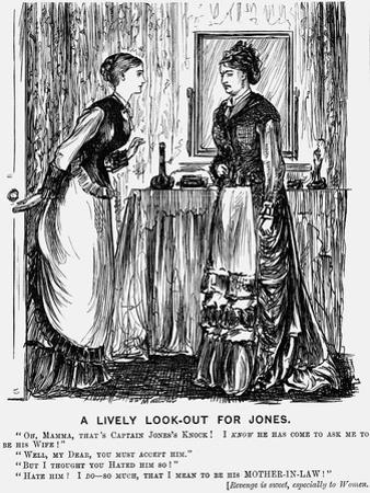 A Lively Look-Out for Jones, 1876 by George Du Maurier