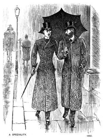 A Speciality, 1882 by George Du Maurier