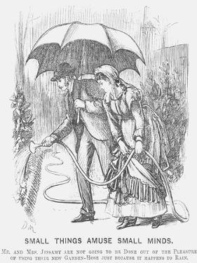 Small Things Amuse Small Minds, 1872 by George Du Maurier