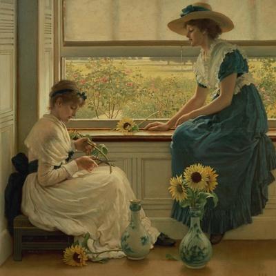 Sun and Moon Flowers, 1889