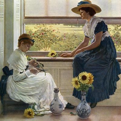 Sun and Moon Flowers, 1890