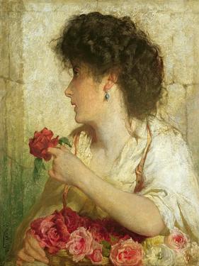A Summer Rose, 1910 by George Elgar Hicks