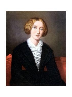 George Eliot as a Young Woman, C1840