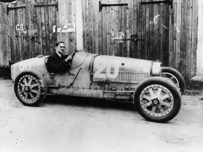 George Eyston in a 1927 Bugatti Type 35B, (1927)