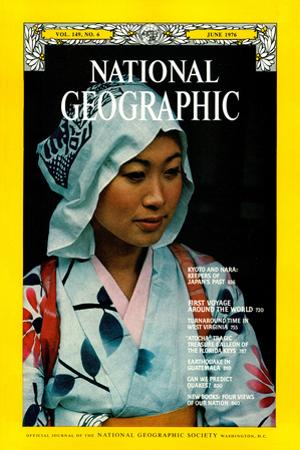 Cover of the June, 1976 National Geographic Magazine