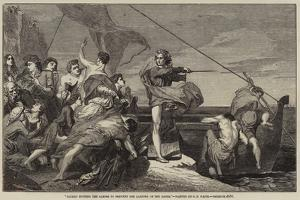 Alfred Inciting the Saxons to Prevent the Landing of the Danes by George Frederick Watts