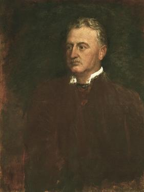 Cecil Rhodes, English-Born South African Statesman, 1898 by George Frederick Watts