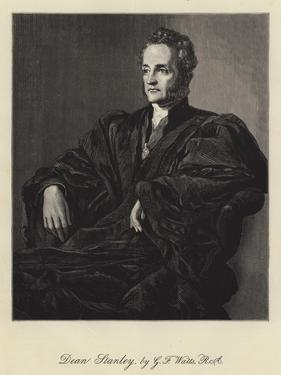 Dean Stanley by George Frederick Watts