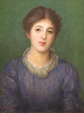 Euterpe Ionides, 1881 by George Frederick Watts