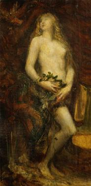 Eve tempted 1977-433. by George Frederick Watts