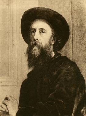 George Frederic Watts, English Victorian Painter and Sculptor by George Frederick Watts