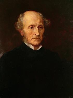 John Stuart Mill, 1873 by George Frederick Watts