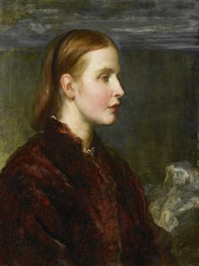 Miss Eliza Ann Ogilvy, 1866 by George Frederick Watts