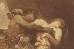 Orpheus and Eurydice, 1870-72 by George Frederick Watts