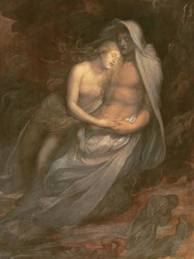 Paolo and Francesca, 1870 by George Frederick Watts
