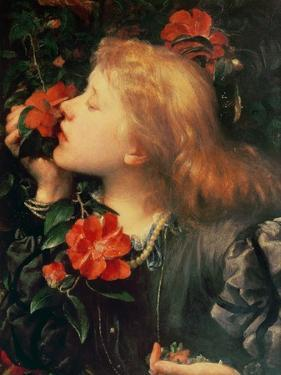 Portrait of Dame Ellen Terry by George Frederick Watts