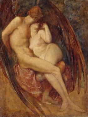 Satan and Sin by George Frederick Watts