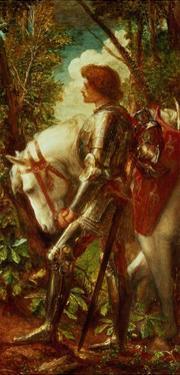 Sir Galahad by George Frederick Watts