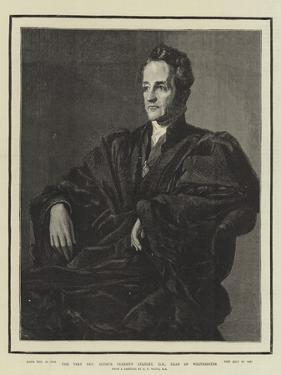 The Very Reverend Arthur Penrhyn Stanley, Dean of Westminster by George Frederick Watts